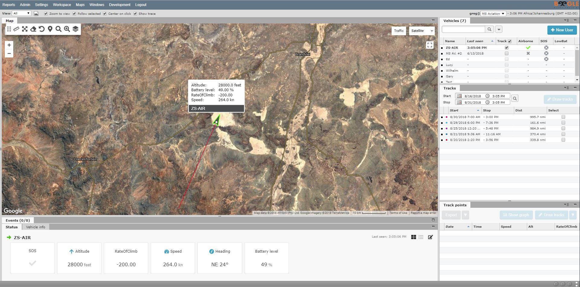 Beegle X-1 web portal overview